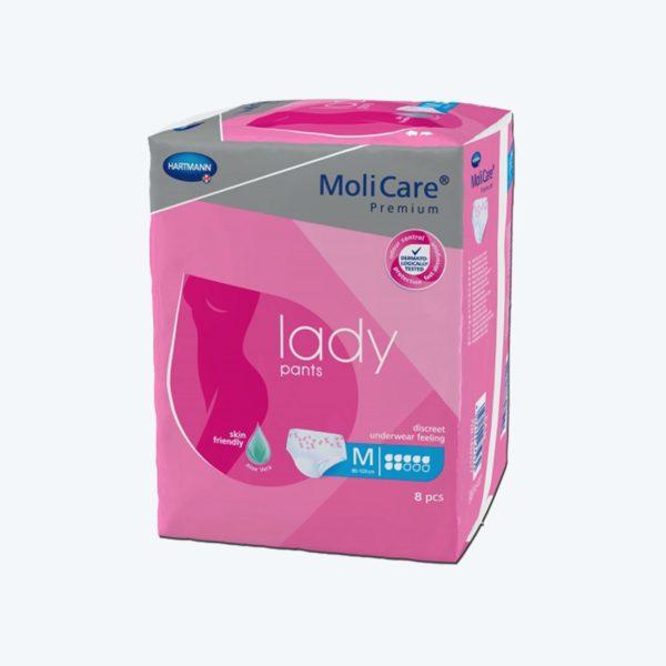Potection MoliCare Premium Lady Pants 7 gouttes Médium